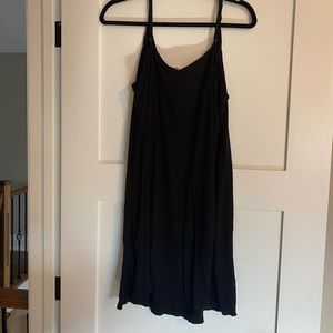 H & M shift dress with adjustable straps